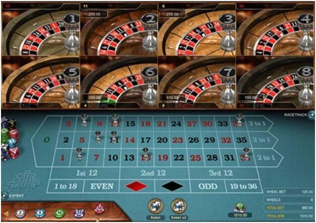Mutli wheel roulette