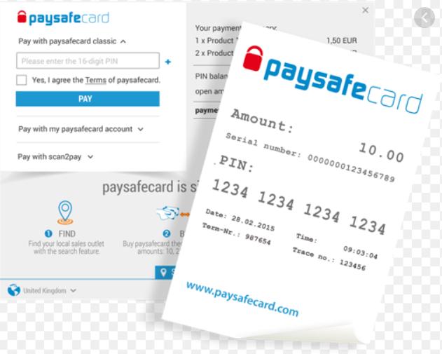 Paysafe card casinos