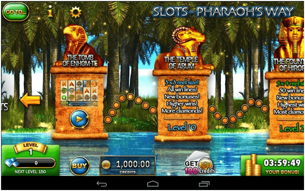 Pharaoh's way pokies app