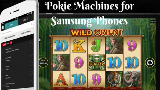 Pokie Machines for Samsung phones
