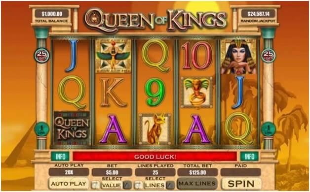 Queen of Kings pokies