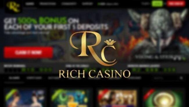 Rich Casino Australia Pokies for Real Money