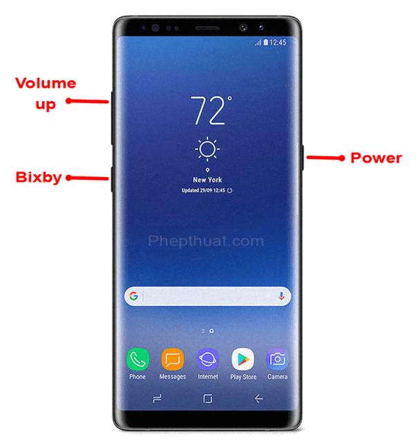 Samsung Galaxy Note 8 reset