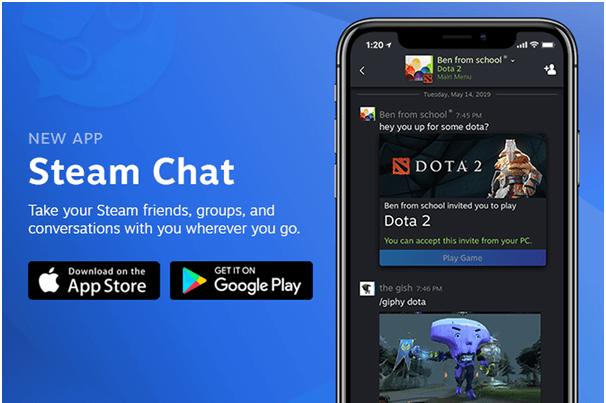 Steam Chat App