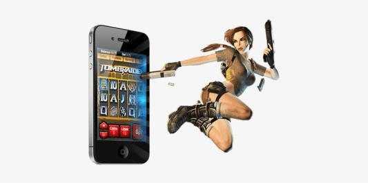 Tomb Raider mobile pokies