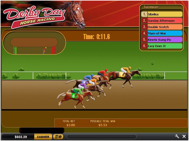 How to play Virtual horse races