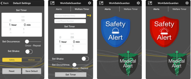 Work safeguardian app AU