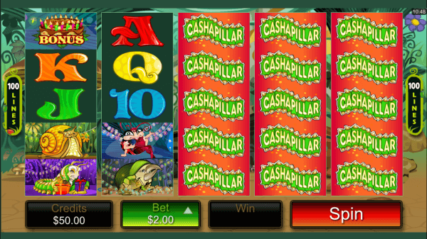 Cashapillar Pokies - Click to Play