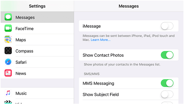 Transferring iMessage Data