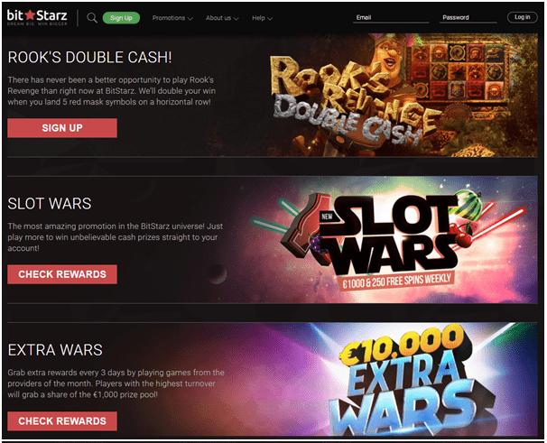 Bitstarz casino bonus offers