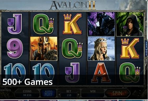 Avalon II Pokie Machine