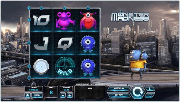 Monster Madness pokies