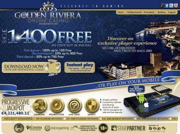 golden riviera 1400 free