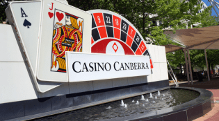 Why casino in Canberra is so small?