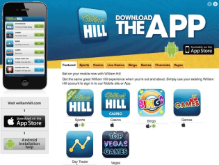 Why can't I download William Hill Casino in Australia