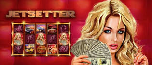 The JetSetter poker machine and how do I win the mega jackpot