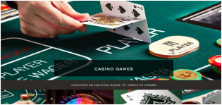 What Blackjack games are available at Crown Casino and what is minimum bet?
