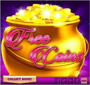 How to get free coins in Slots Craze game app?