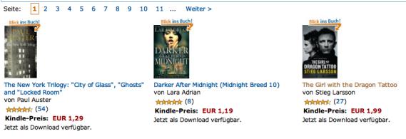 500 Englische eBooks für unter 2 Euro