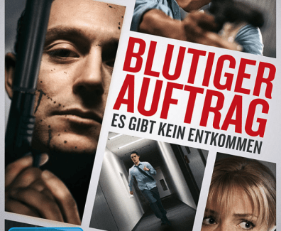 «Blutiger Auftrag – Not safe for work» action im Bürokomplex