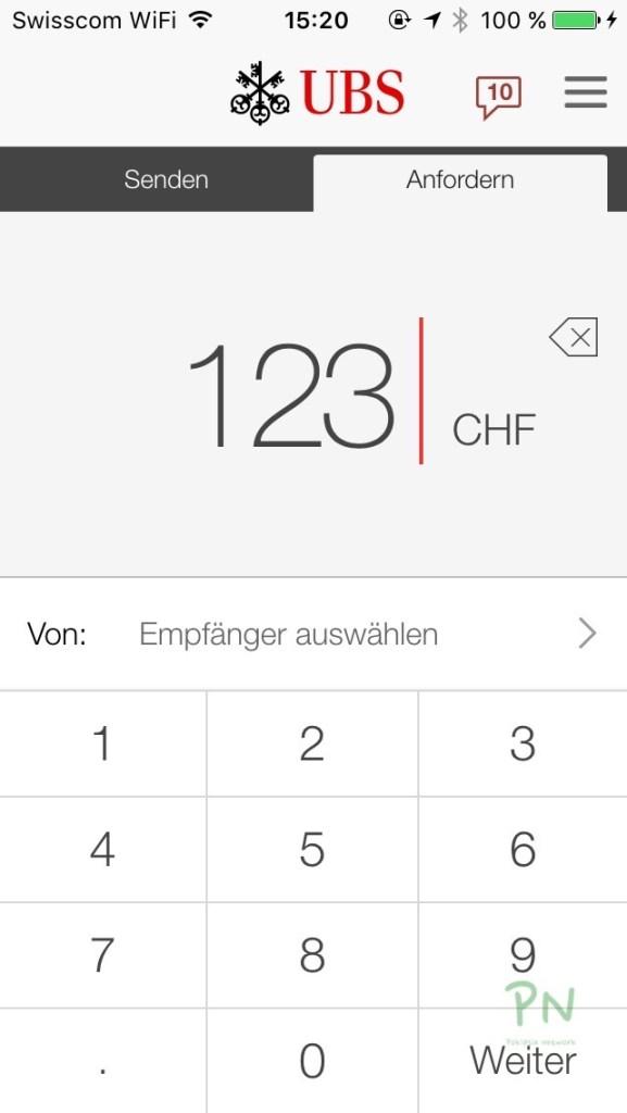 Das digitale Portemonnaie und die Schweiz - UBS Paymit