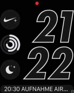 Apple Watch Serires 2 Nike+ Watchfaces 3