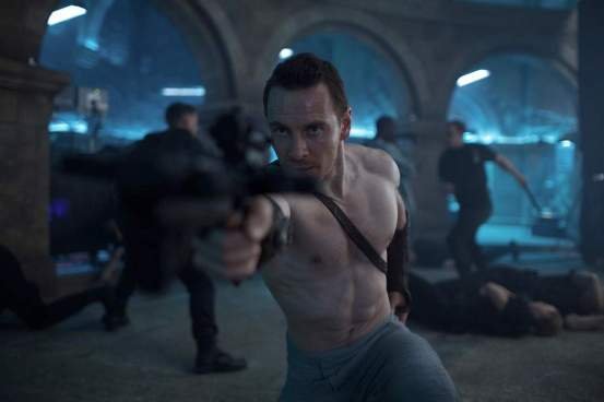Fassbender in Action