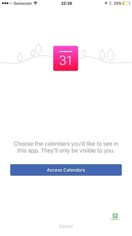 Einbinden von eigenen Kalendern