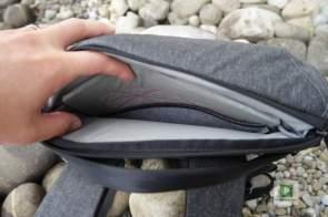 Das Laptop und das Tablet Fach