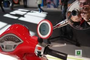 TomTom VIO Navigation am Roller