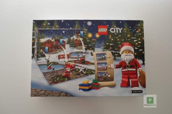 LEGO City Kalender hinten