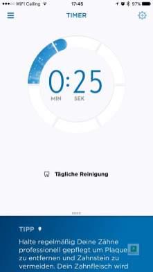 Timer in der App