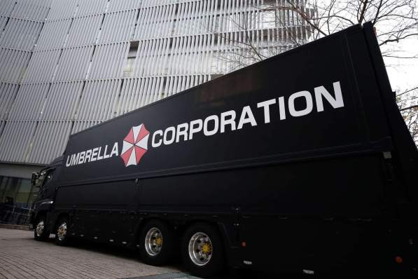 Umbrella Truck bei der Premiere