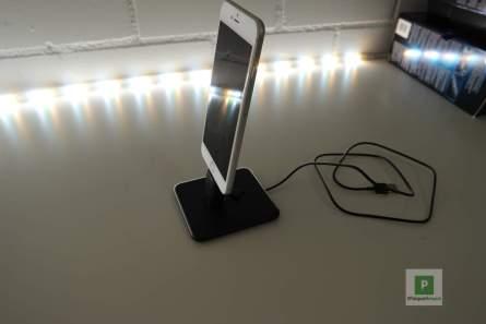 Mit dem iPhone