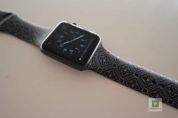 an der Apple Watch