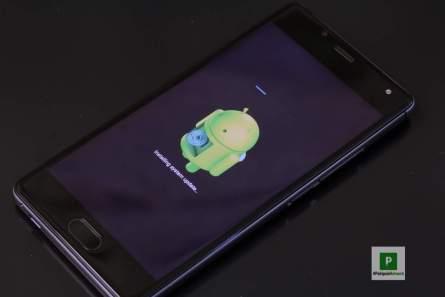 Android Update einspielen