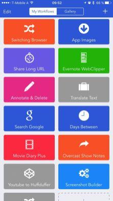 Workflow (iOS)