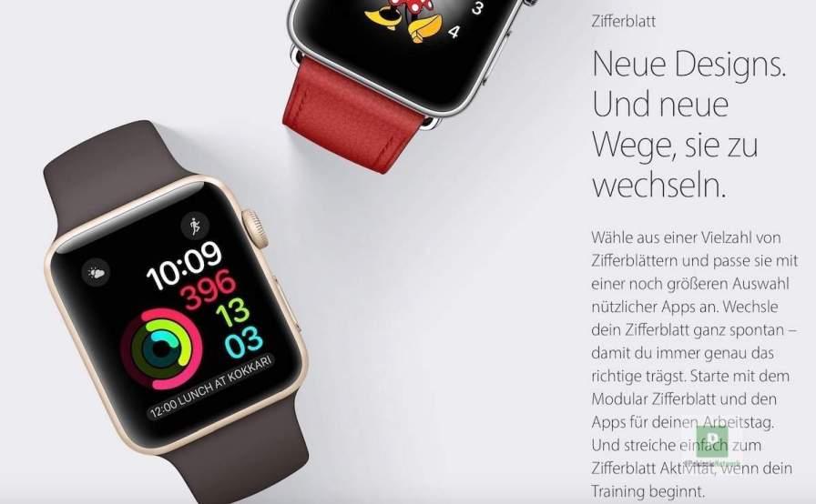 Neue Watchfaces