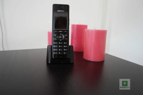 Das Telefon in Aktion