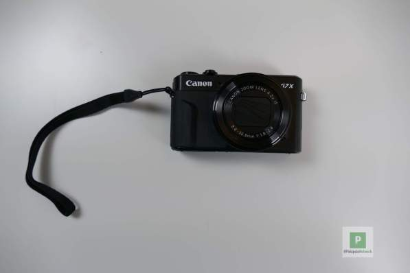 Die G7 X von Canon