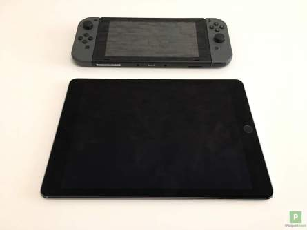 Grössenvergleich - Switch zu iPad Pro 9.7