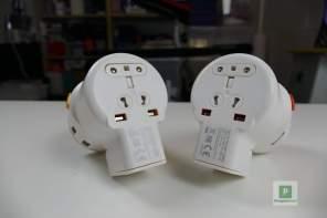 Die beiden Adapter
