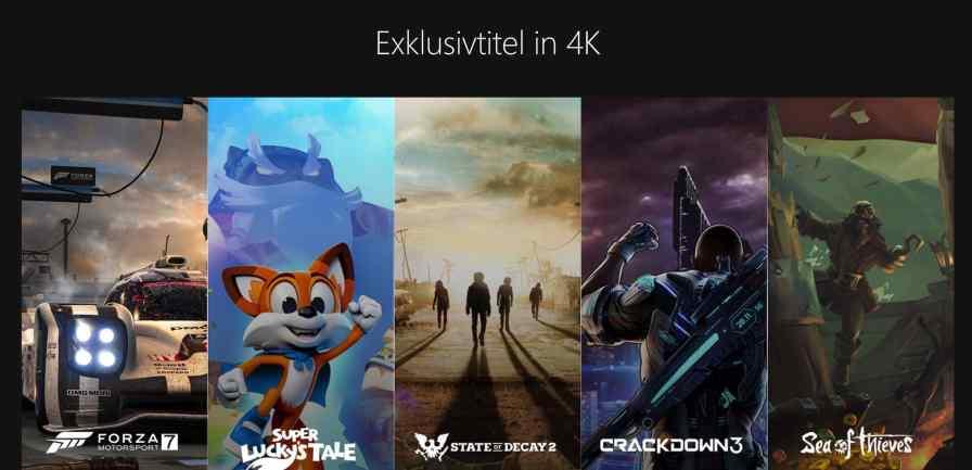 Die kommenden Exklusivtitel in 4K