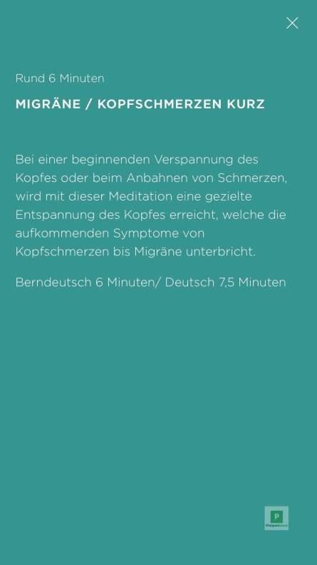 Migräne / Kopfschmerzen kurz