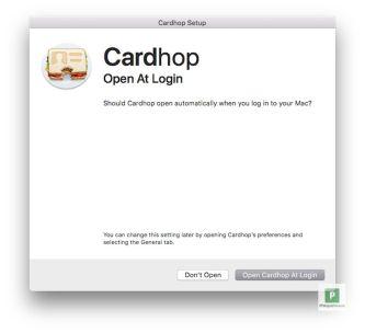 Öffnen beim Start vom Mac