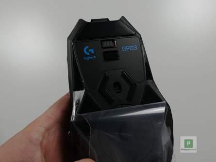 Die Sensoren und der Ein-/Ausschalt-Regler