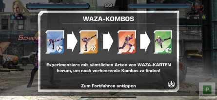 Kombos in Tekken Mobile