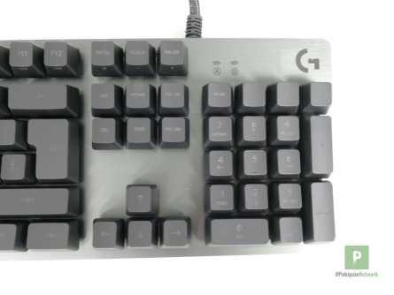 Der rechte Bereich der Tastatur