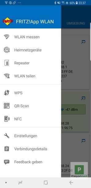 Die ganzen Funktionen der App