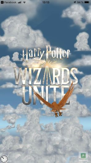 Harry Potter: Wizards Unite Titelscreen
